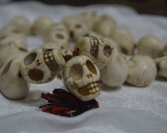 Hand crafted skull mala big size
