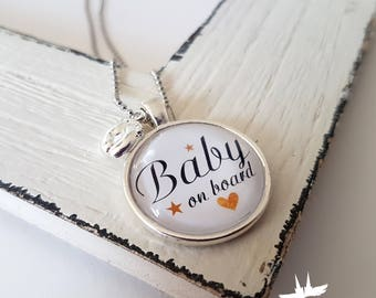 Baby, chain chain congratulations on pregnancy, birth, baby, chain baby gift for the expectant mother.