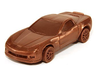 Chocolate Chevrolet Corvette C6 Z06 Racing car General Motors sports car USA Le Mans winner American cars auto lovers Best Gift idea