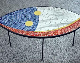 "Mosaic ""eye"" table"