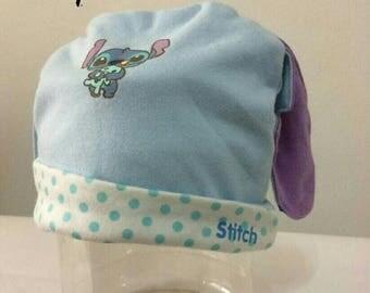 Disney stitch baby infant hat cap