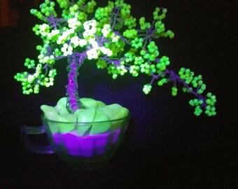 Uranium beaded Bonsai Tree