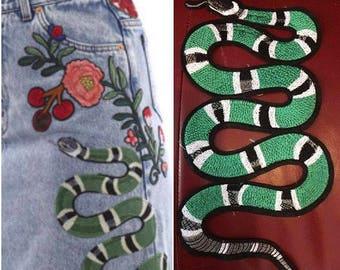 Snake patch