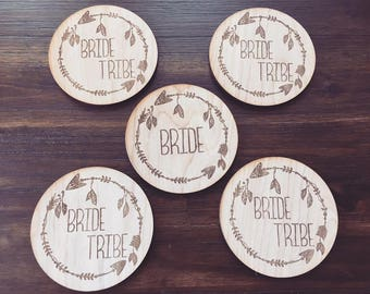 "Bride ""Tribe"" Coasters"