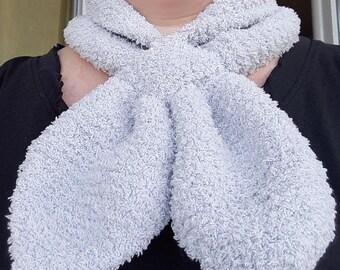 Off white scarf fashion plush