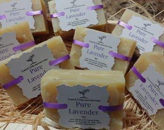 Lavender Handmade Soap 5oz.