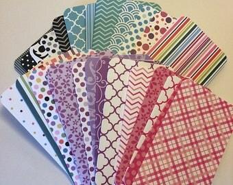 Handmade Travelers Notebook Folders, TN Folders, Fauxdori Folders, Handmade Folders