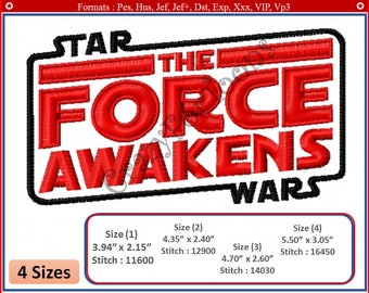 STAR wars EMBROIDERY DESIGNS All formats (Design 1)