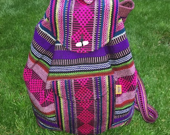 Mexican rucksacks - Over 50 different colour combinations