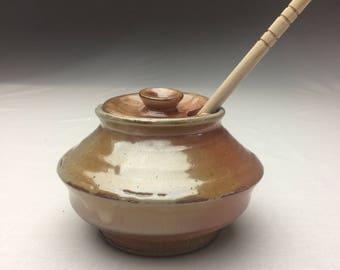 Shino Honey Pot
