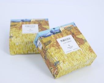 Wheat field after rain washi tape, Van Gogh art masking tape,  washi tape with Van Gogh art, Van Gogh painting washi tape