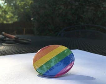 LGBT Gay Pride Button Pin