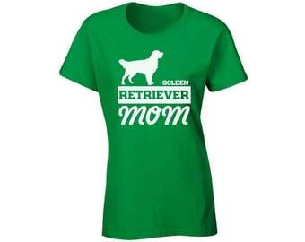 Golden Retriever Mom T shirt Top Shirt Dog Lover Gift Retriever Mom Gift for Mom