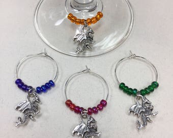 Dragon Wine Charms