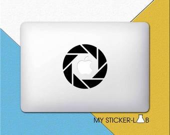 MacBook Decal Camera MacBook Sticker Camera Apple Decal Laptop Sticker Lens Laptop Decal Pro Retina Vinyl Sticker Shutter Photography m220