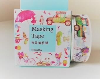 Kawaii washi tape, washi tape, decorative tape, adhesive tape, washi tape uk, masking tape