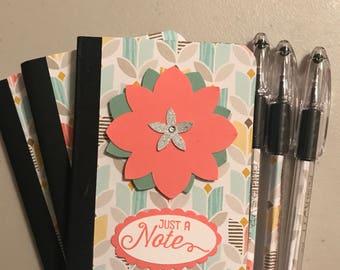 Mini Composition Notebook & Pen Set