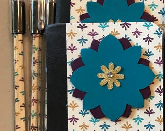 Mini Composition Notebook & Pen Set