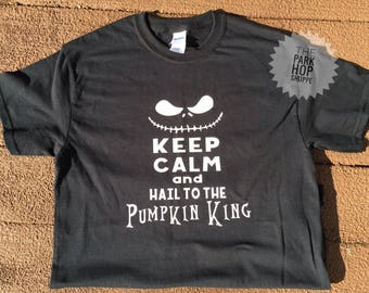 Nightmare Before Christmas Shirt * Pumpkin King Shirt * Jack Skeleton