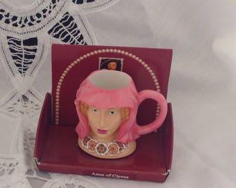 Anne of Cleeves Regency Fine Arts MIni Cups Figurine,Queens of England Figure