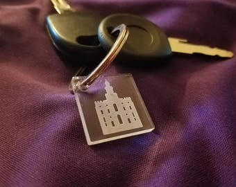 Temple Key Chain
