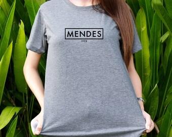 Shawn Mendes 1998 shirt dath of birth shirts Women&Men t-shirts Shot sleeves tumblr Unisex Adult size S/M/L/XL/2XL
