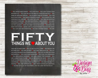 50 Reasons We Love You - Poster