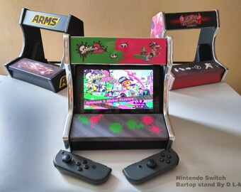 Bartop stand for Nintendo switch