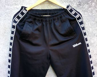Vintage Rare! 90s WILSON Track Pant