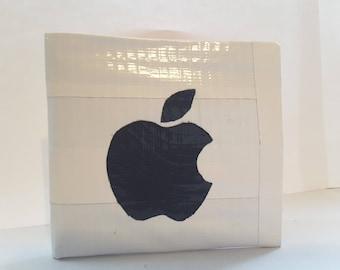 Apple Logo Duct Tape Wallet