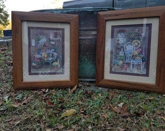 signed barbara mock rare retired home interior and gifts pictures love grows in the