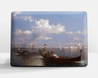 "Laptop skin (Custom size). F. R. Unterberger, ""Venice"". Laptop cover, HP, Lenovo, Dell, Sony, Asus, Samsung etc."