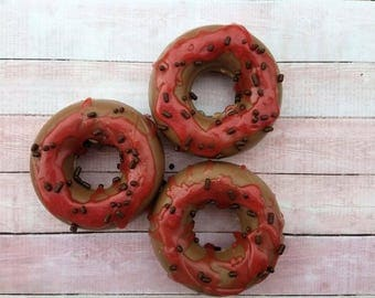 Chocolate Cherry Donut Guest Soaps