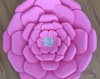 Large Flower Template / Paper Flowers Template