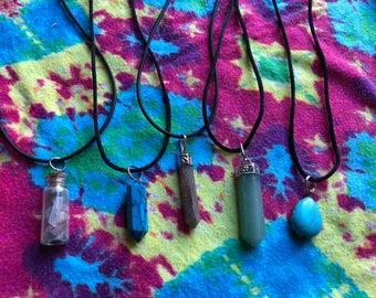 Adjustable Stone Necklaces