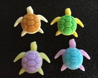 4pc. Sea Turtles