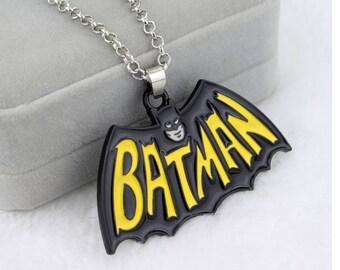 The Batman long Necklace Pendant Dragon Dinosaur Chain Woemn Mens gift