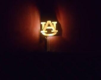 Light up Auburn sign