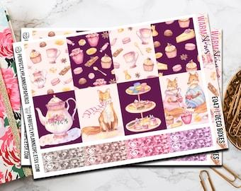 047   Warm Stories // Erin Condren Vertical  and Happy Planner Classic Weekly Planner stickers