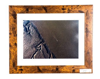 Aerial Original Drone Photograph of Morecambe Bay