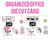 Organized Office Card Die Cuts