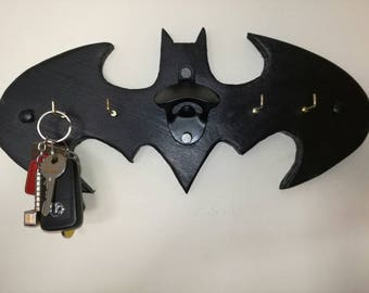Batman keyholder/bottle opener