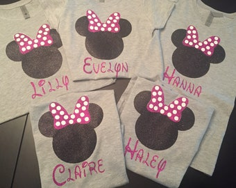 Minnie Mouse Disney vacation shirts