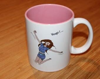 Mug, clock Ideal Nanouq, yay, tableware, Bowl, porcelain