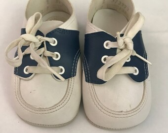 Vintage baby oxford shoes size 2