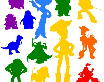 Toy Story svg Disney svg SVG files for Cricut SVG files for Silhouette Toy Story vector files svg dxf eps png