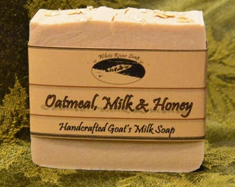 Goats Milk: Oatmeal Milk & Honey Scent