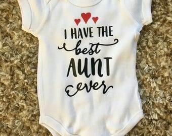 Best Aunt Ever Onesie
