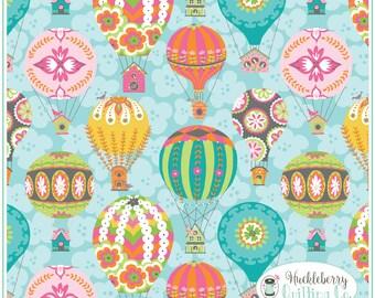 Flutter & Float, Float Blue, Ana Davis, Blend Fabrics, , Quilting Fabric, Cotton Fabric, Yardage