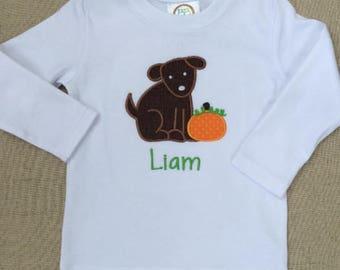 Pumpkin Shirt, Dog and Pumpkin Shirt, Fall Shirt
